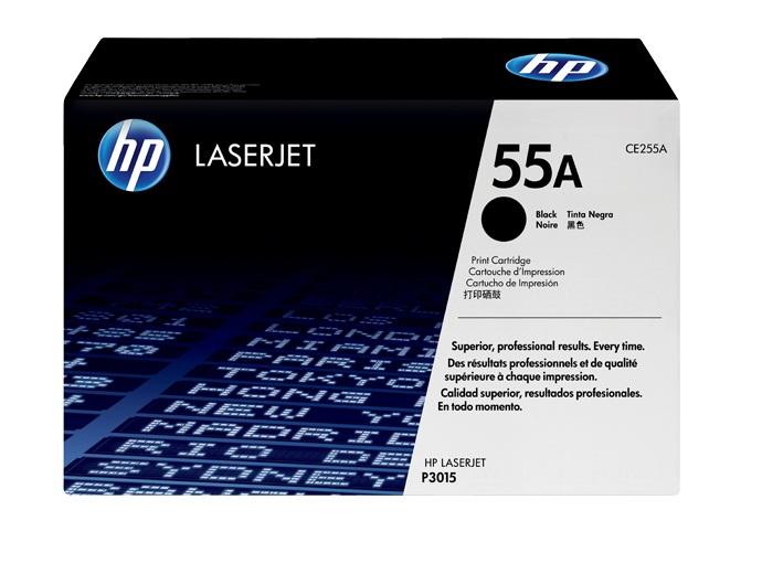 HP CE255A fekete EREDETI