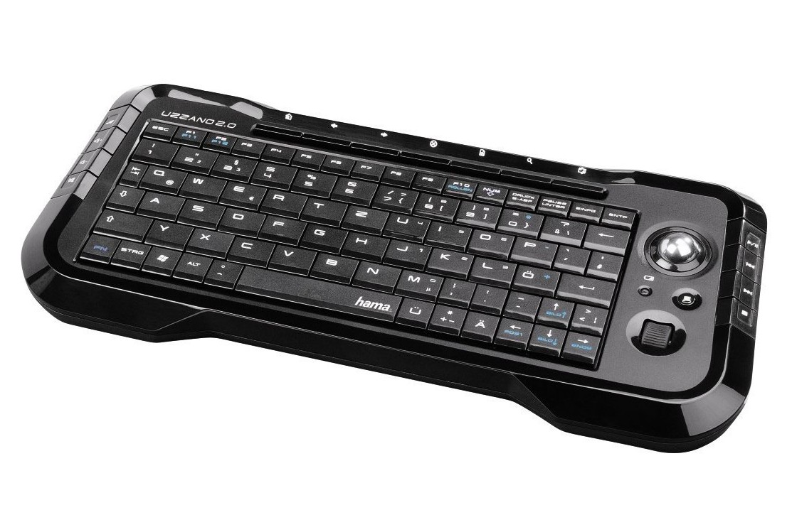 HAMA 53822 Uzzano 2.0 Smart TV Keyboard Angol