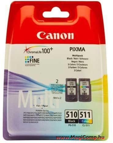 CANON PG-510/CL-511 Multipack EREDETI PG510/CL511